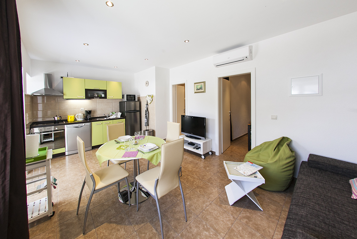 Apartment A2 for 4 persons